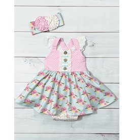 Serendipity Serendipity- French Rose Bubble Dress