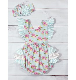 Serendipity Serendipity- French Rose Bubble Romper