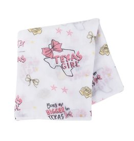 Little Hometown Little Hometown- Texas Girl Swaddle