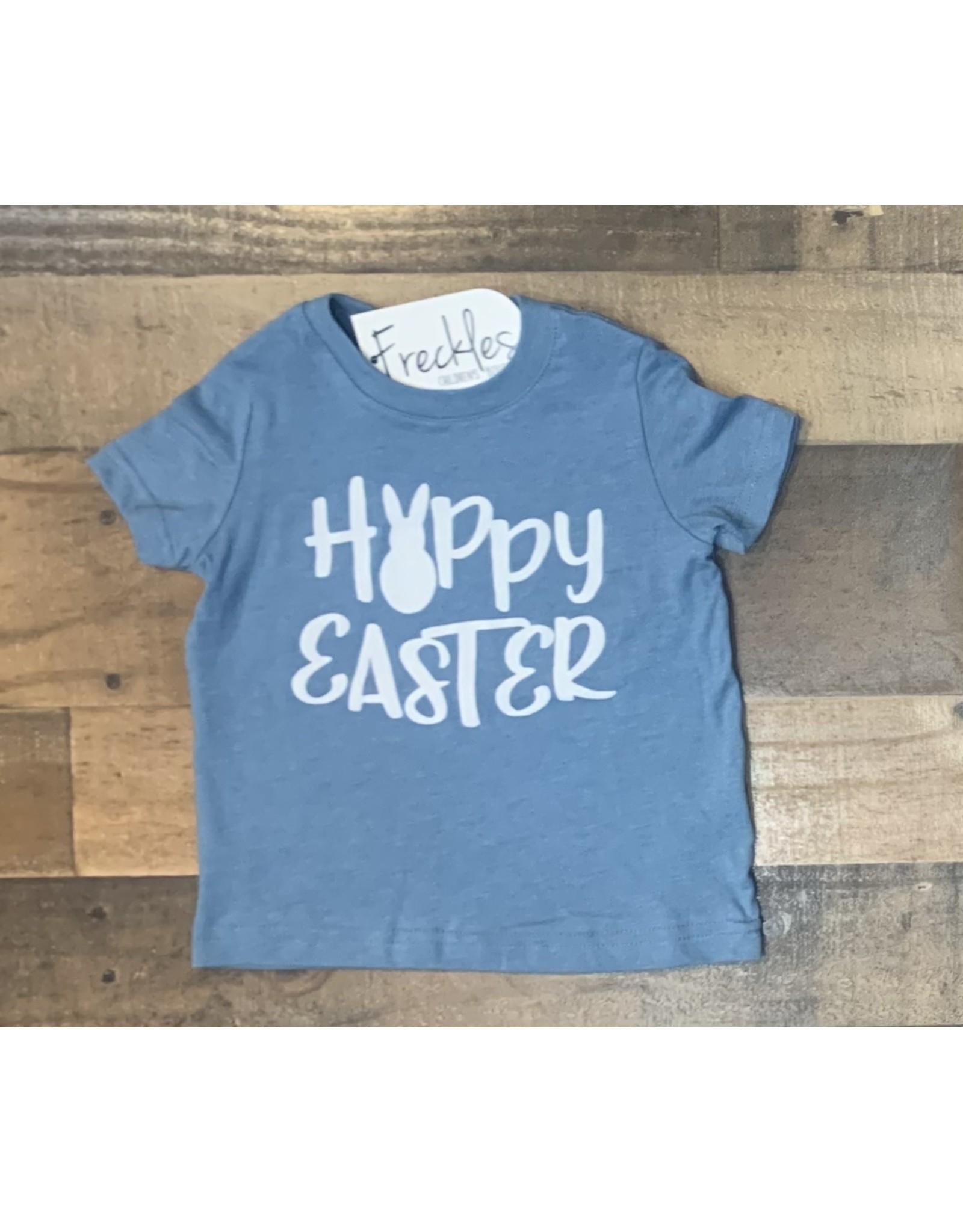 Blue Hoppy Easter Shirt