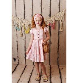 Swoon Baby Swoon Baby- Gingham Tier Dress