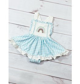 Swoon Baby Swoon Baby- Dainty Embroidered Bubble Dress