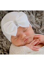 ILYBEAN Ilybean - Silver Jewel Bow Nursery Beanie