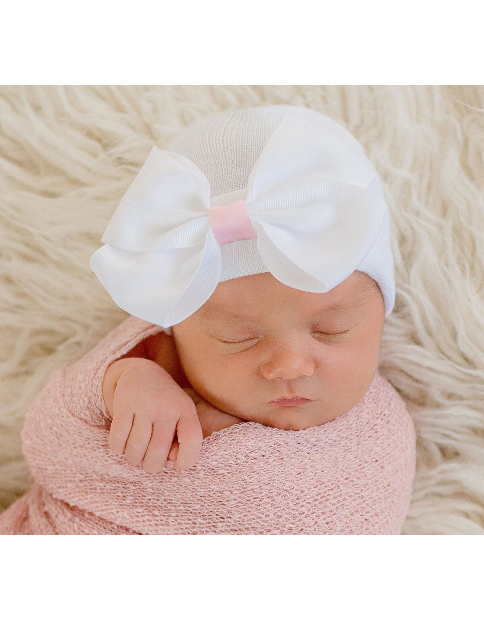 ILYBEAN Ilybean - Sophia Bow Nursery Beanie