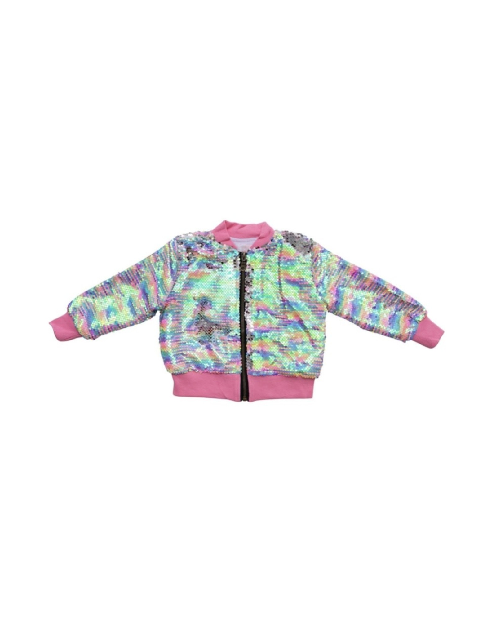 Mila & Rose- Sprinkles Flip Sequin Jacket