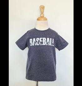 Grey Baseball Graphic Shirt