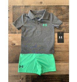 Under Armour Under Armour- Pitch Gray Polo Set