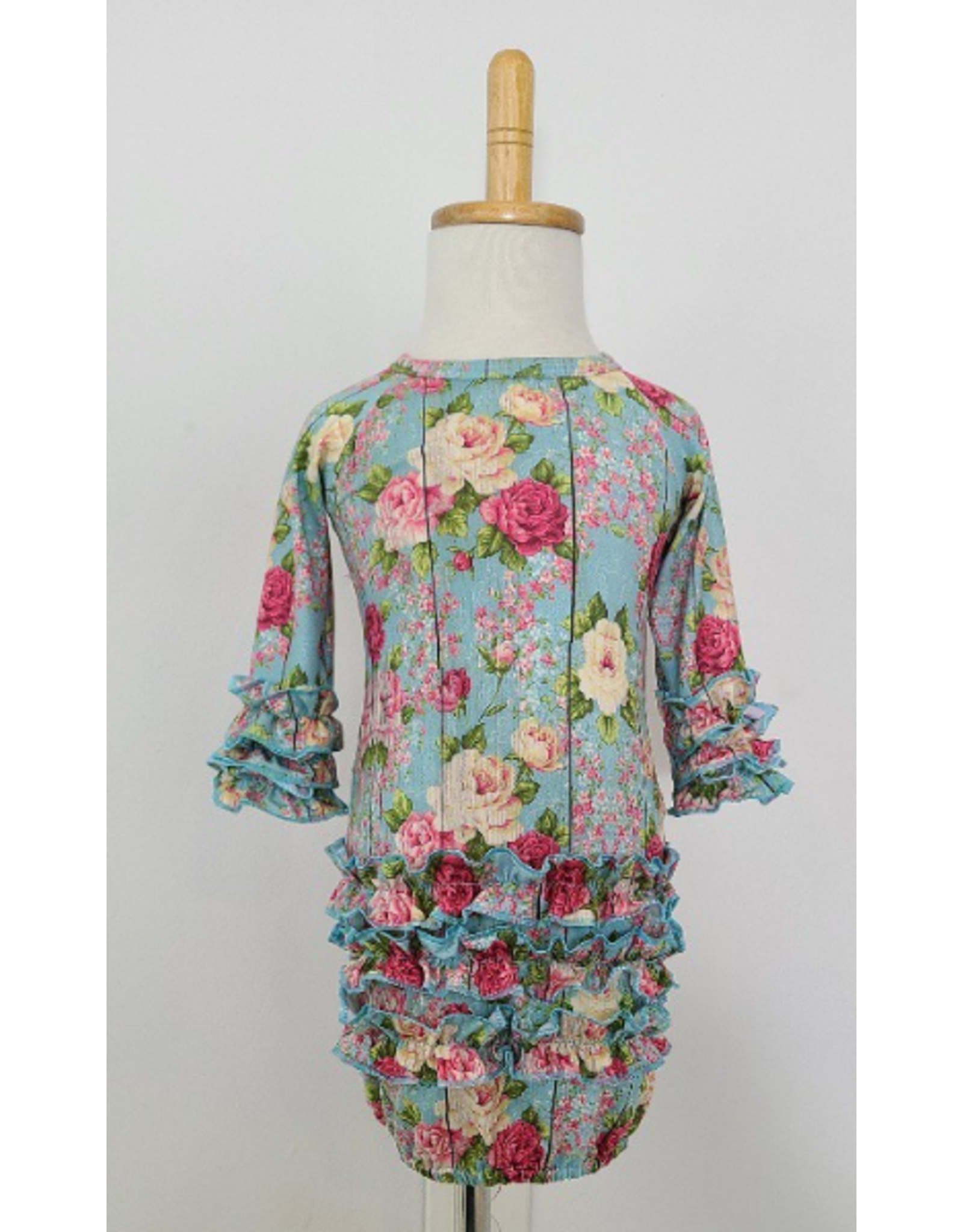 Barnwood Rose Newborn Gown