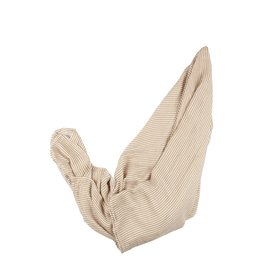 Brave Little Ones Brave Little Ones- Camel Small Stripe Muslin Swaddle