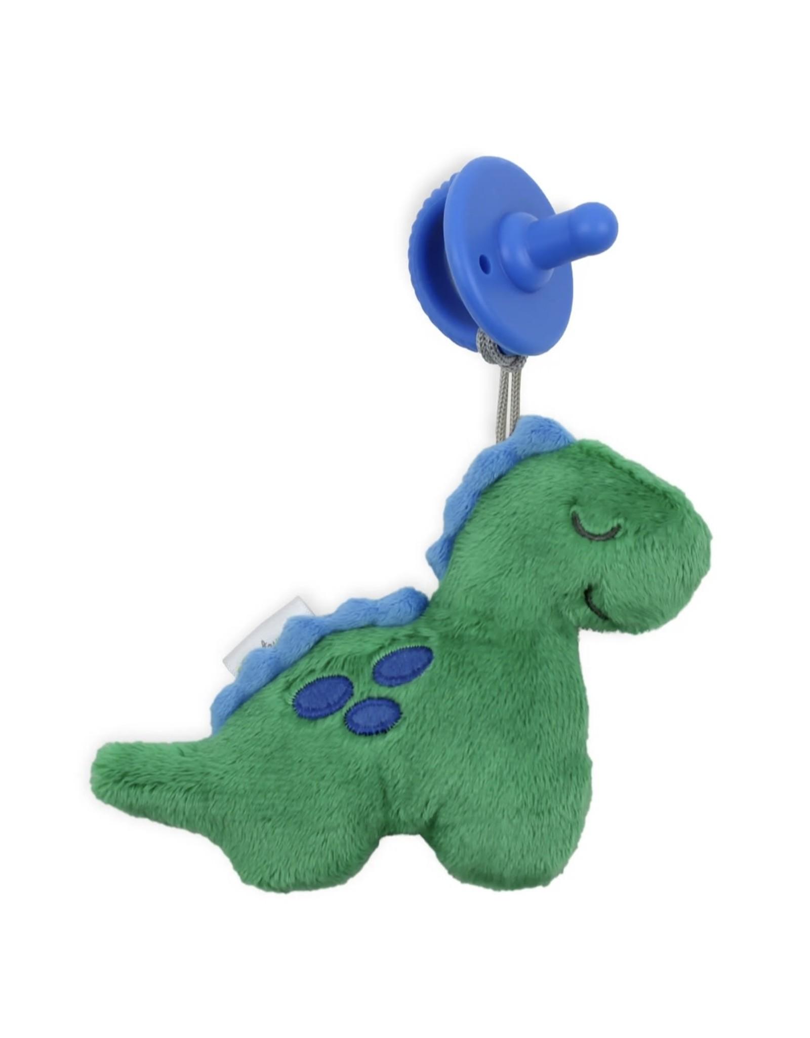Itzy Ritzy Itzy Ritzy- Sweetie Pal Plush & Pacifier: Dino