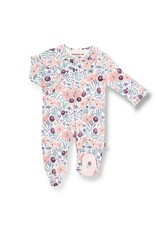 Magnetic Me Magnetic Me- Mayfair Organic Cotton Magnetic Footie