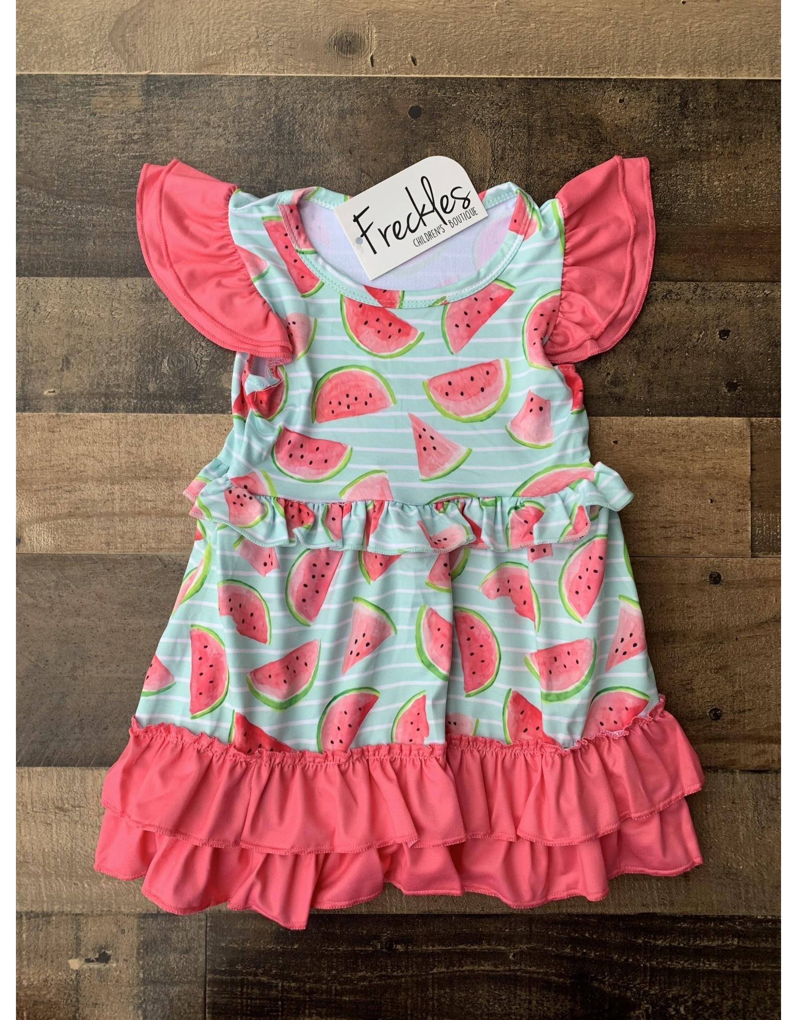 Aqua Watermelon Dress