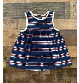 Forever Young Forever Young- Red, White & Blue Stripe Dress
