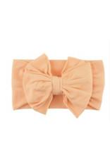 Ruffle Butts Ruffle Butts- Melon Big Bow Headband