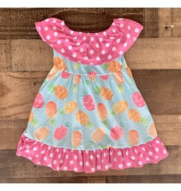 Pineapple Dot Dress