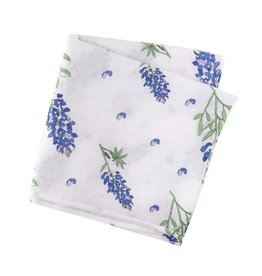 Little Hometown Little Hometown- Bluebonnets Swaddle