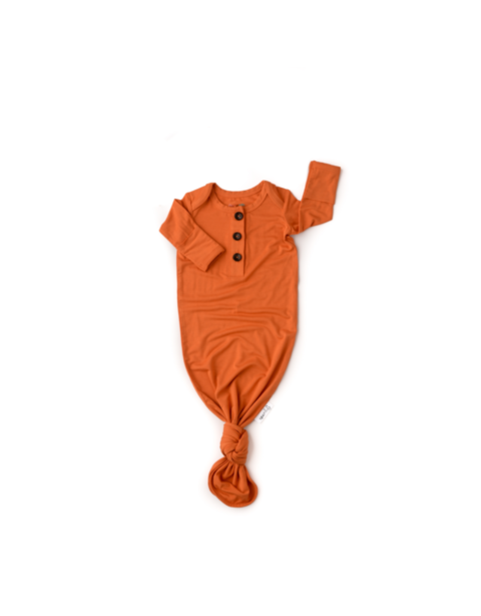 Gigi & Max Gigi & Max - Sam Burnt Orange Knotted Button Gown