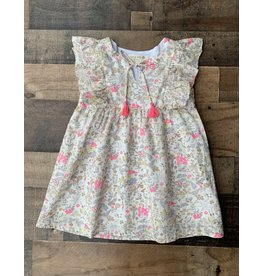 Forever Young Forever Young- Floral Tassel Dress