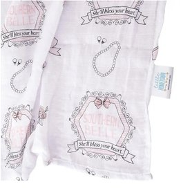 Little Hometown Little Hometown- Southern Belle Swaddle