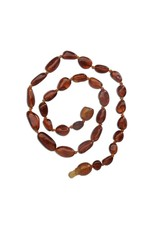 Cherished Moments CM- Amber Teething Necklace Lt Cherry Neck P-