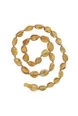 Cherished Moments Cherished Memories- Amber Teething Necklace Lemon P-