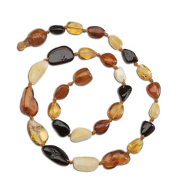 Cherished Moments Cherished Memories- Amber Teething Necklace Multi P-