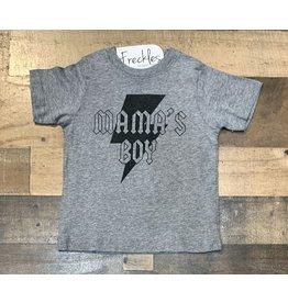 Mama's Boy Shirt: Grey