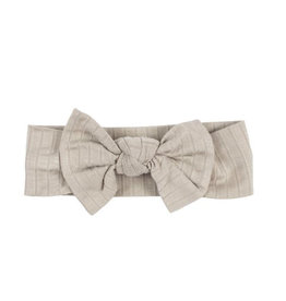 Brave Little Ones Brave Little Ones- Taupe Bow Headband