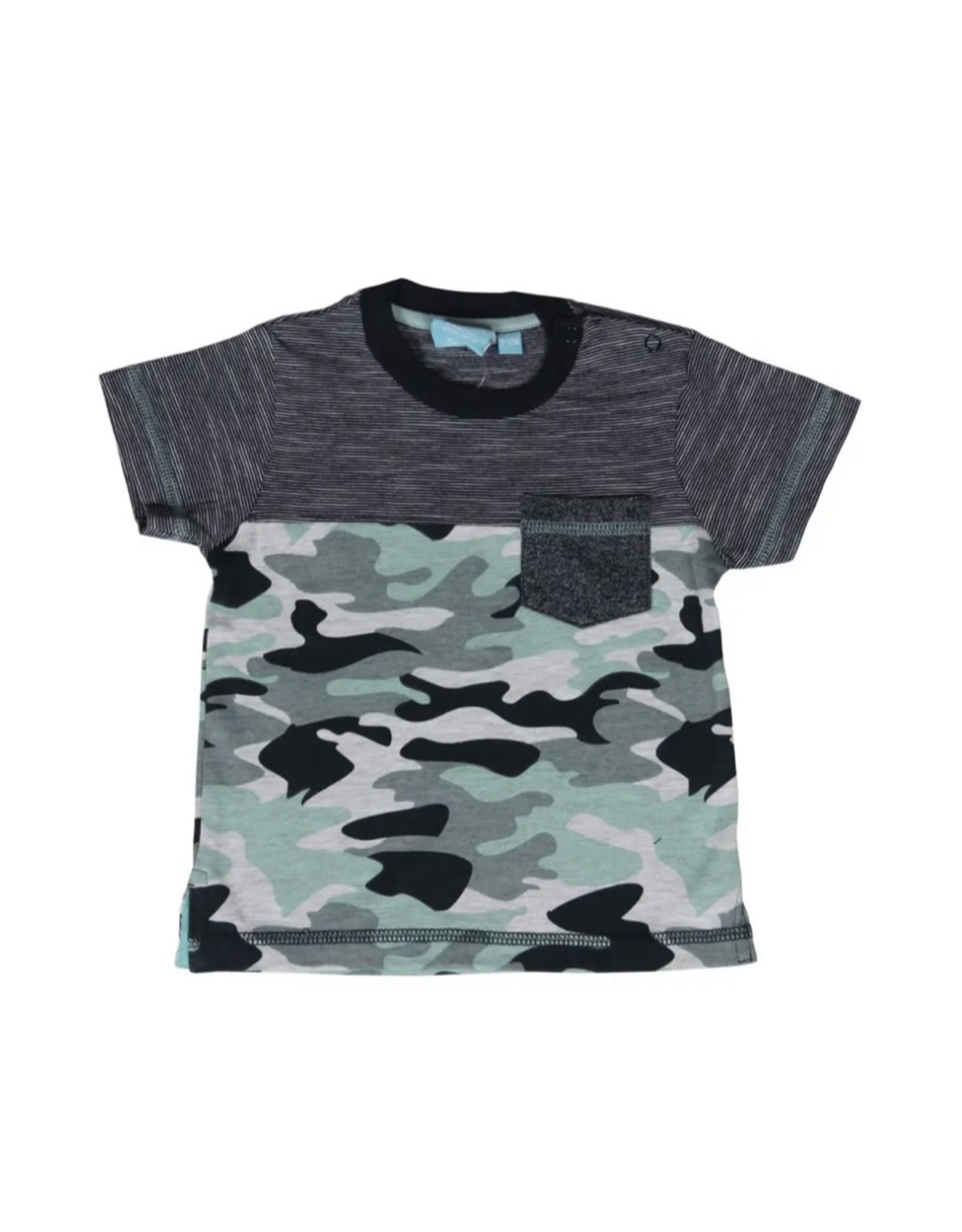 Bear Camp Bear Camp- Randy Camo Pocket Tee