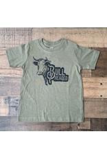 Bull Headed TShirt: Army Green