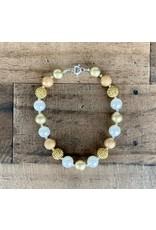 Gold Sparkle Pendant Necklace