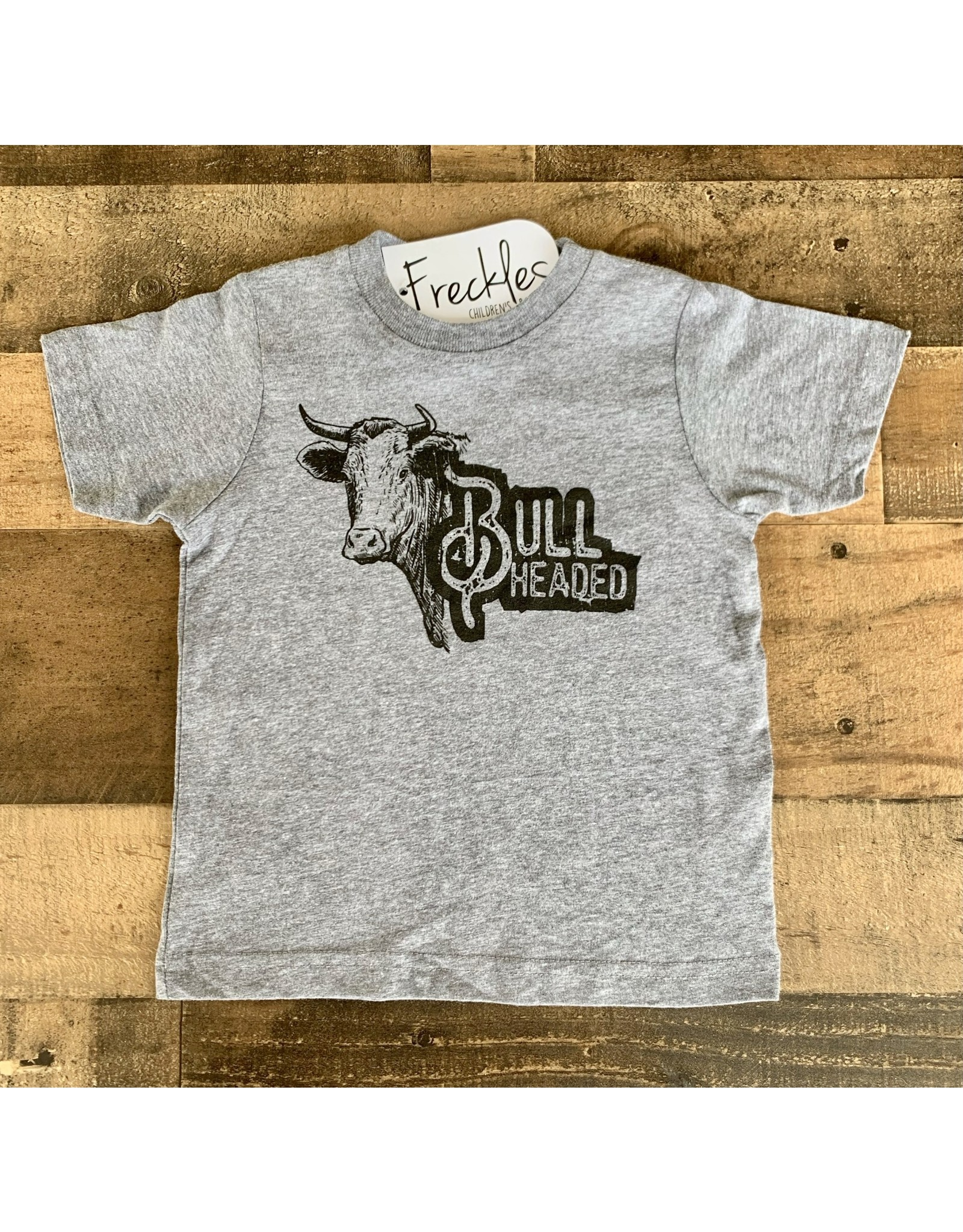 Bull Headed TShirt: Grey
