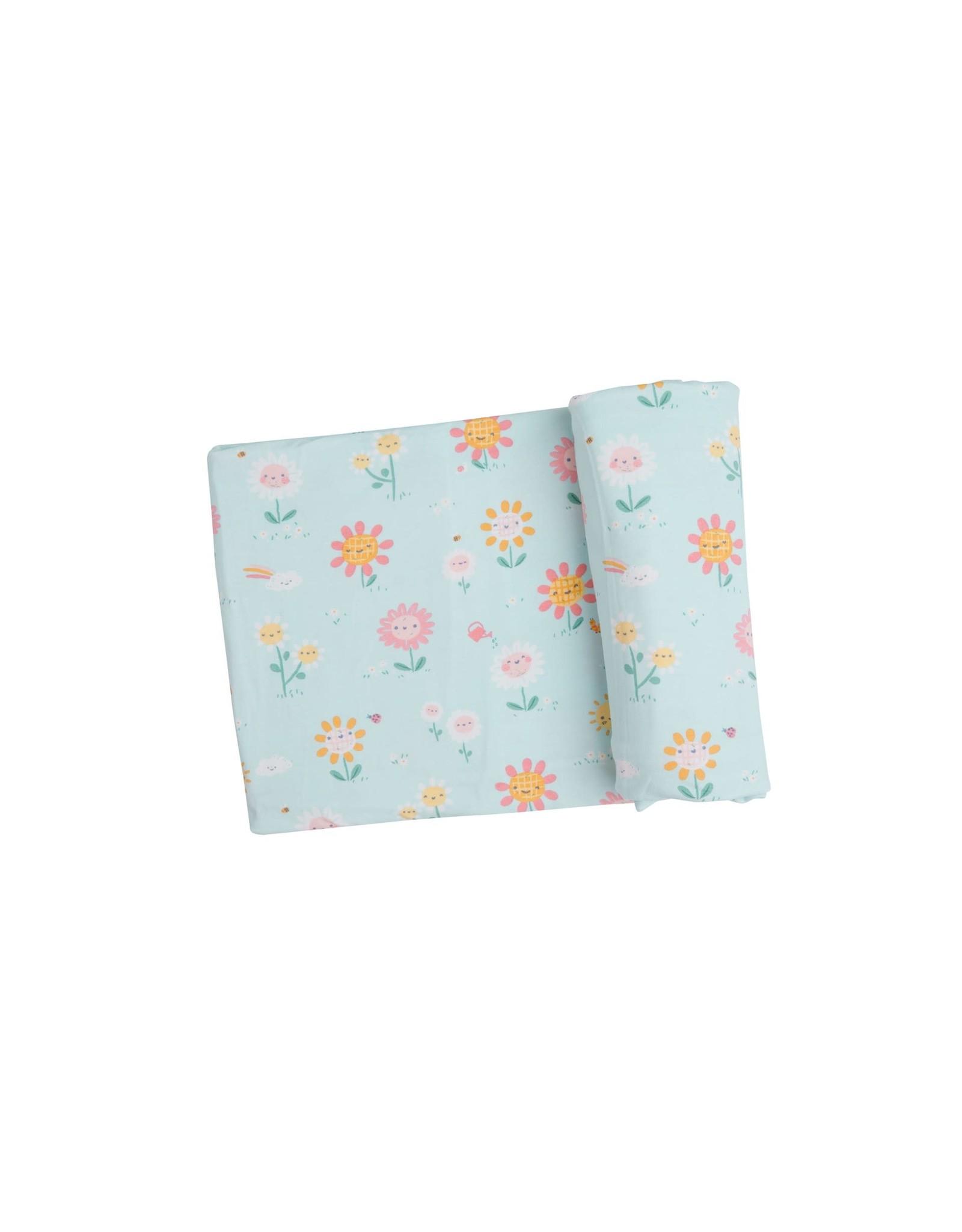 Angel Dear Angel Dear-  Hello Daisy Swaddle Blanket 45X45