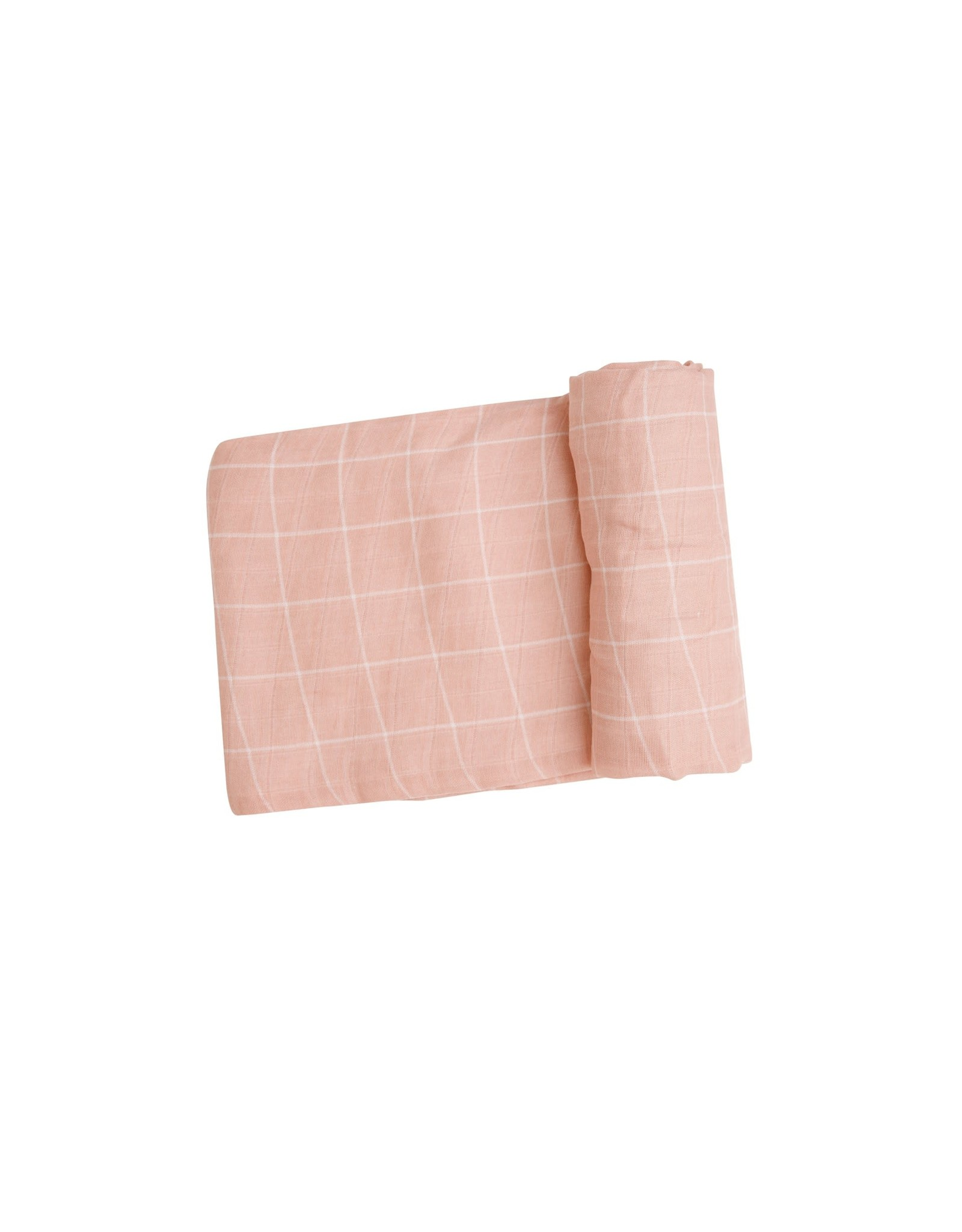 Angel Dear Angel Dear-  Off The Grid Pink Swaddle Blanket 47X47