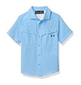 Under Armour UA - Carolina Blue Mesh Button Up