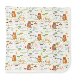 Magnetic Me Magnetic Me- BBQ Bears Swaddle Blanket