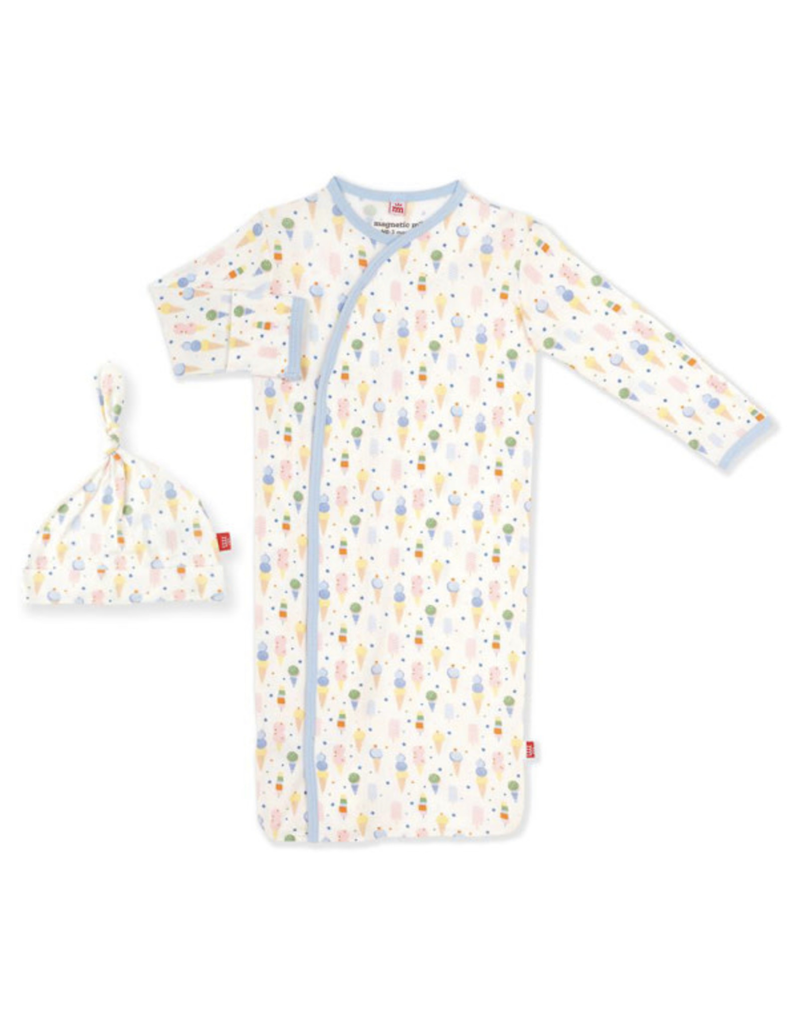 Magnetic Me Magnetic Me- Ice Cream Modal Magnetic Gown Set (NB-3M)