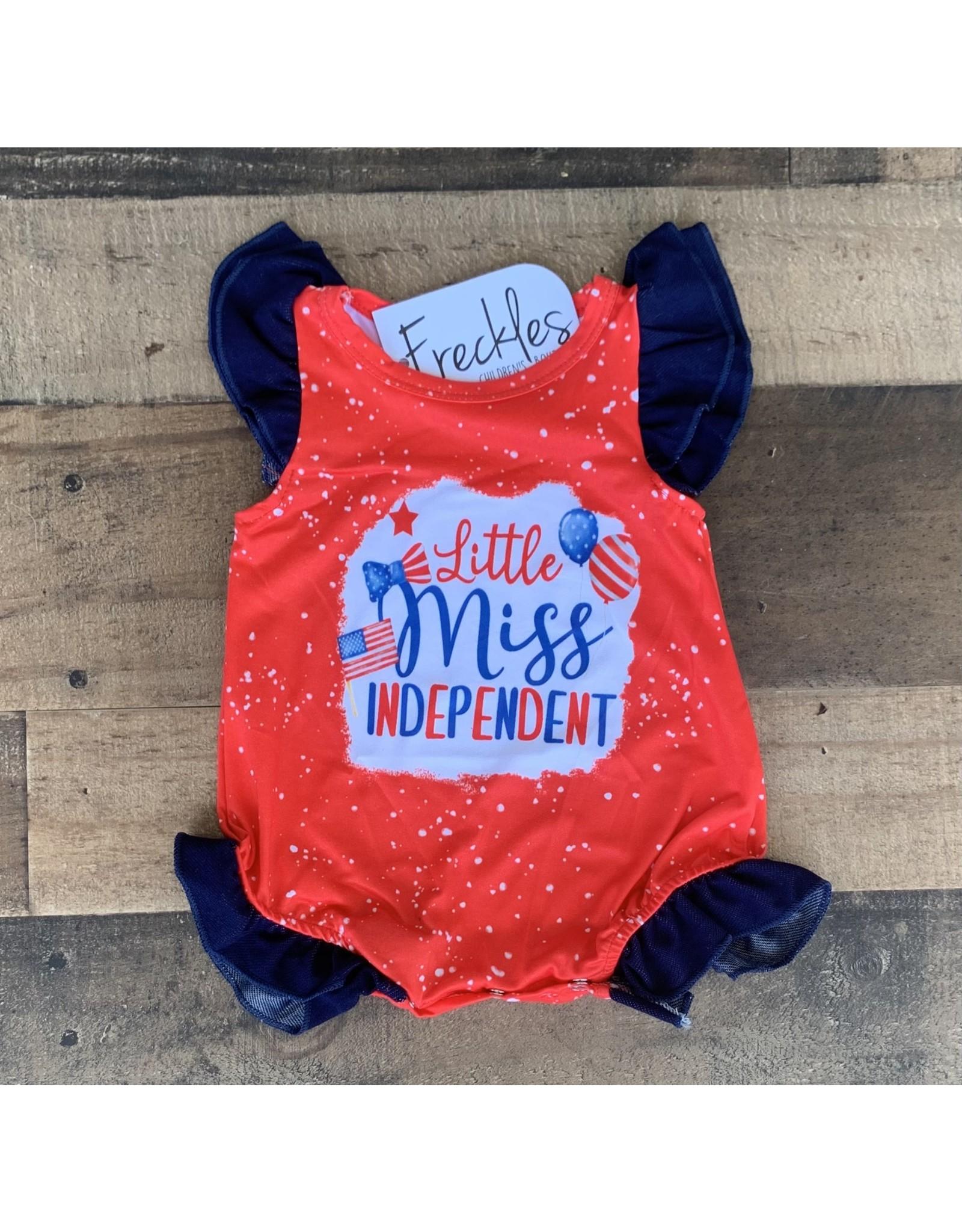 Little Miss Indpendent Romper