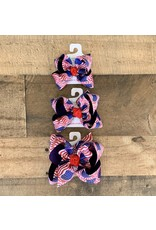 Beyond Creations Beyond Creations - Red, White & Blue Flag Knot Bow
