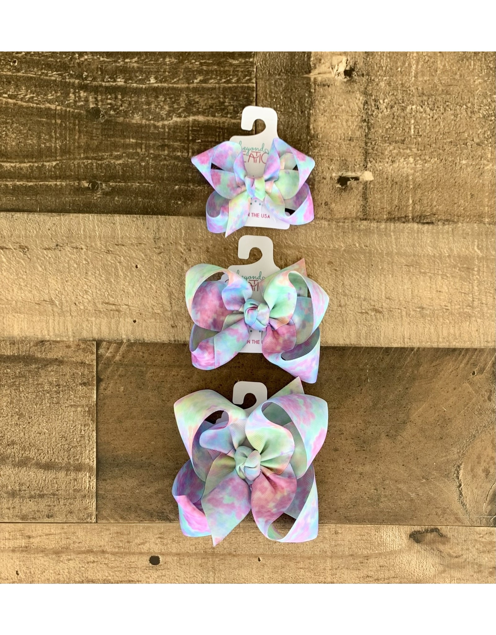 Beyond Creations Beyond Creations - Tie Dyed Bow w/Knot