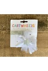 Cartwheels- Silvr Glitter Star Clip Set