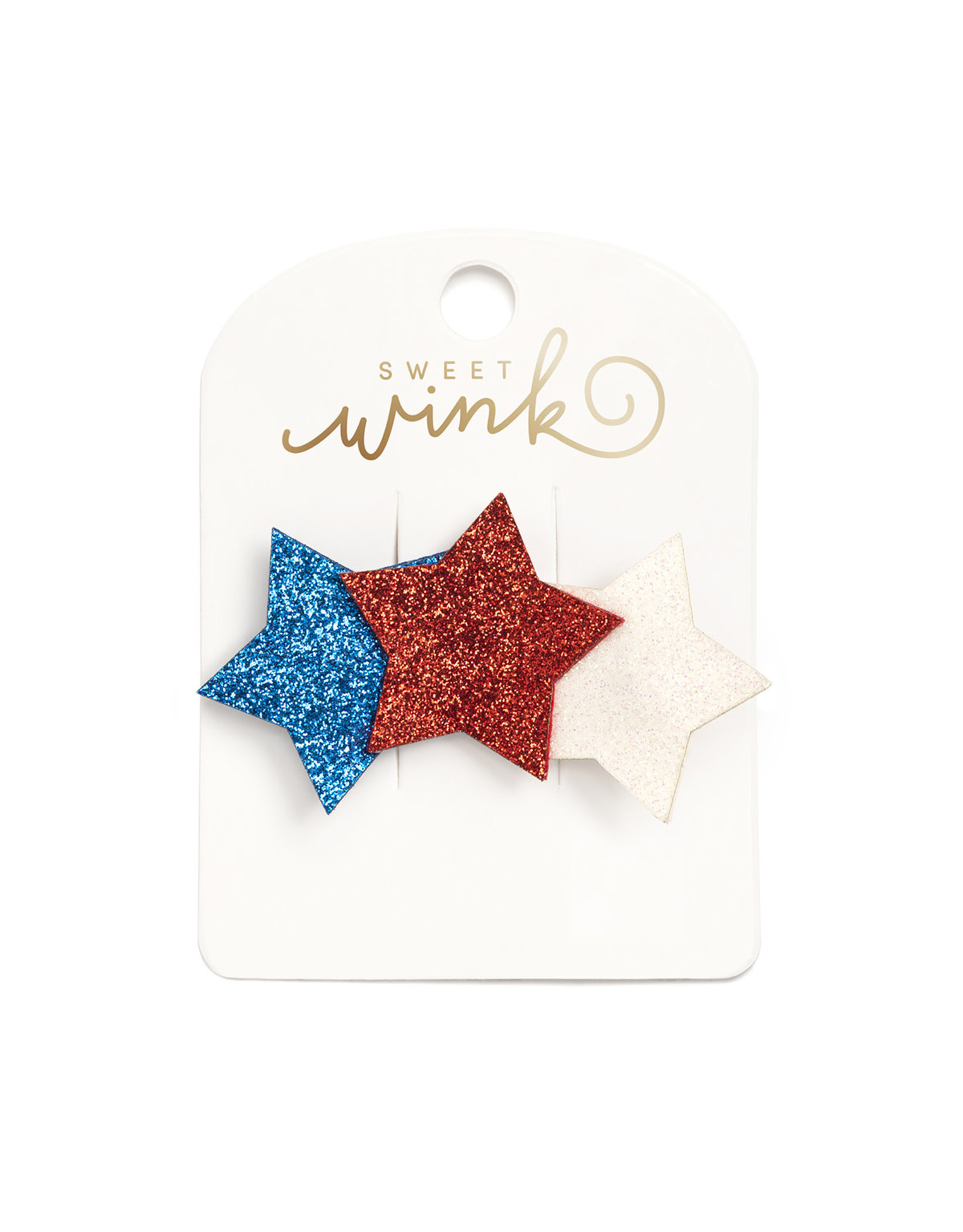 Sweet Wink- Patriotic Stars Clip