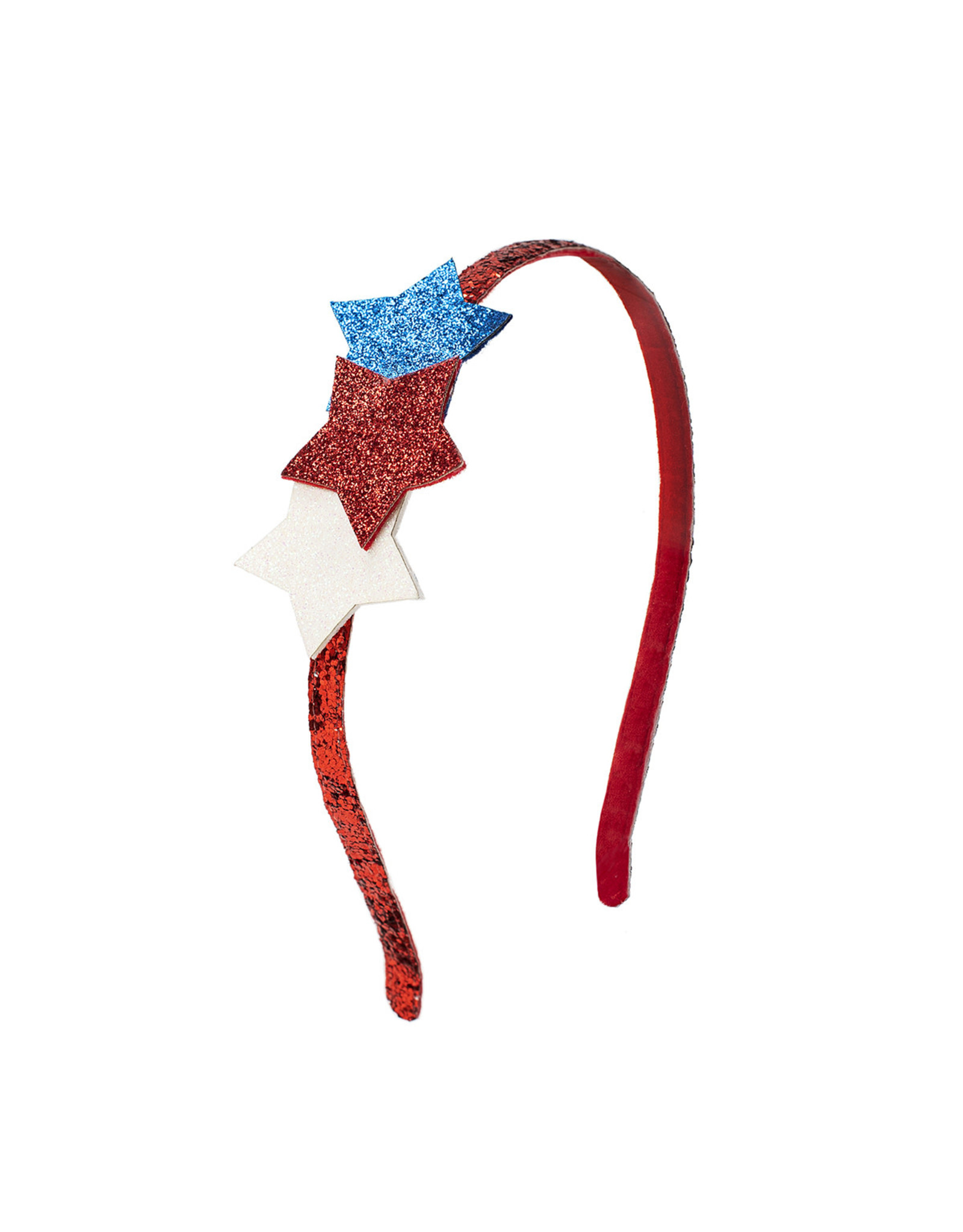 Sweet Wink- Patriotic Stars Hard Headband