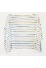 Village Baby Village Baby- Extra Soft Stretchy Knit Swaddle Blanket: Dapper Stripes