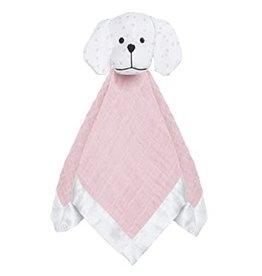 Aden + Anais Aden & Anais - Pink Pup Muslin Lovey