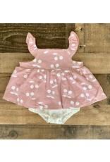 Mauve & Cream Cherry Dress Bubble