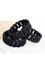 a' la mum - Black Braided Teething Bracelet