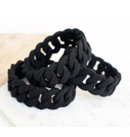 a' la mum a' la mum - Black Braided Teething Bracelet