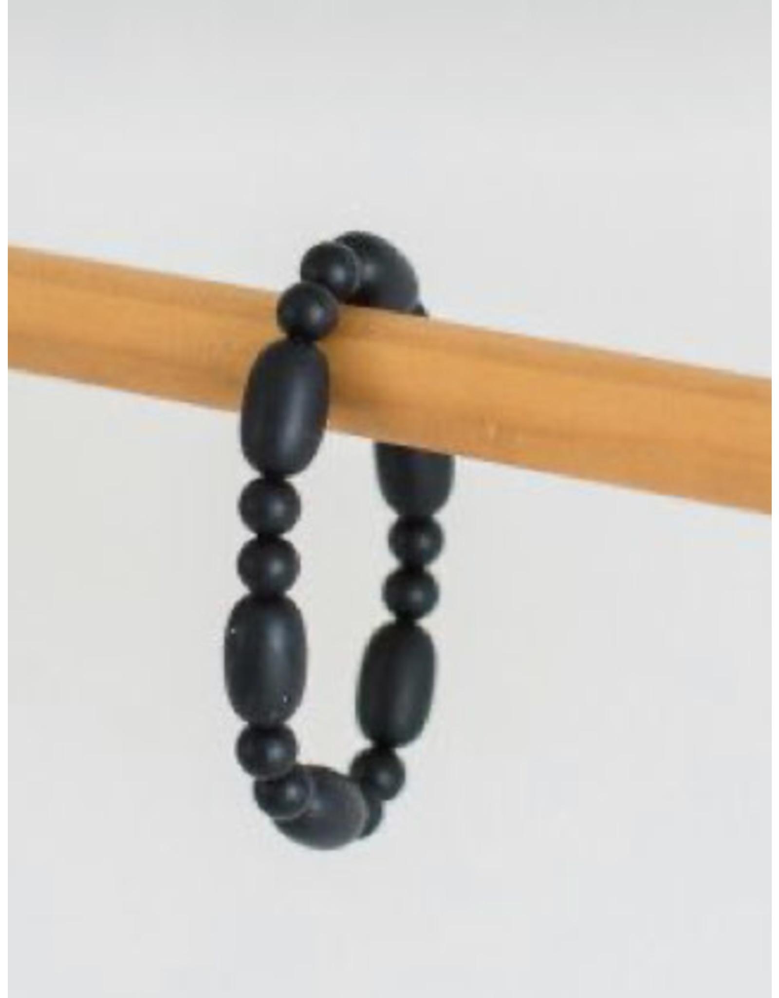 a' la mum - Black Teething Bracelet