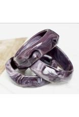 a' la mum a' la mum - Purple Marble Teething Bracelet